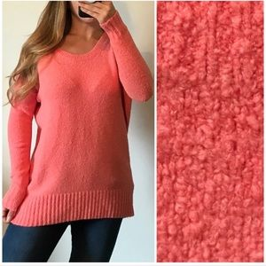 EXPRESS Cozy Textured Knit Pullover Sweater Med